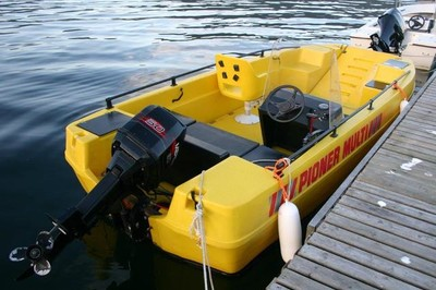divingboat 16ft/70 hp